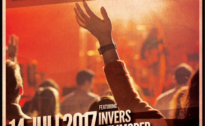 "Bandnacht 2017 - Mit ""Invers"", ""Helimoped"" und ""The Strikers"""