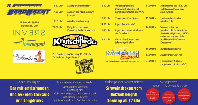 Musikfest 2017 Programm